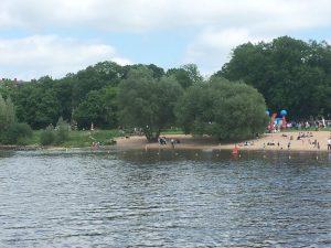 Familientag am Weserstrand in Minden 2017