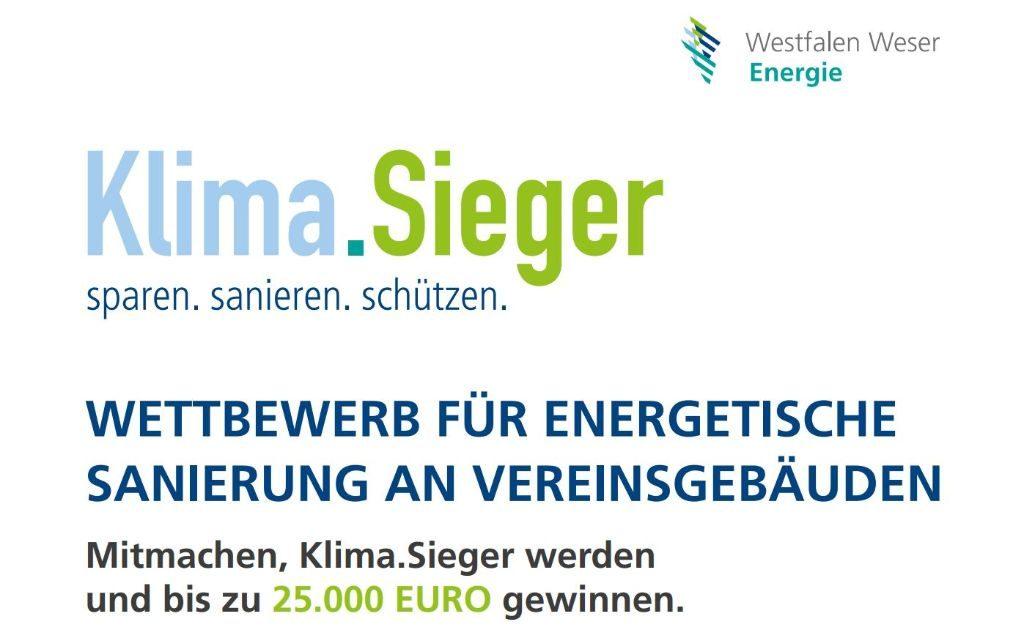 Klima Sieger der Westfalen Weser Energie