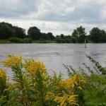Die Weser in Minden Westfalen