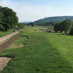 Kanzlersweide in Minden, Blick zur Porta Westfalica