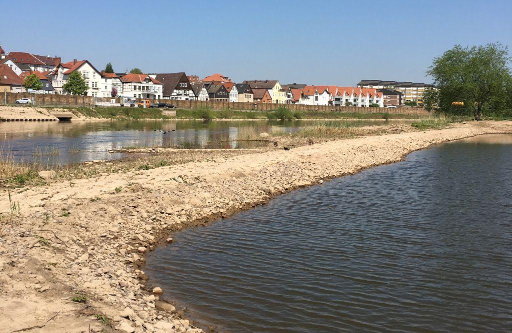 Stadtblänke rechtes Weserufer, Minden